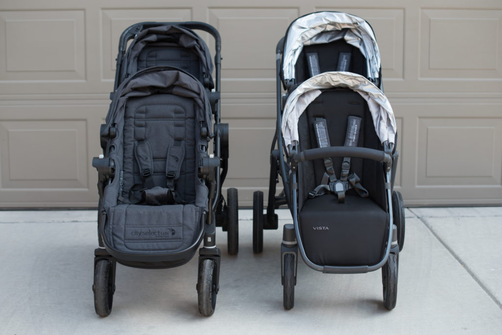 Uppababy Vista Vs City Select Lux 187 Beginning With Grace