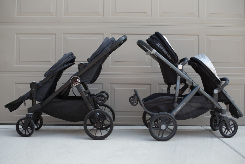 Uppababy Vista Vs City Select Lux Beginning With Grace